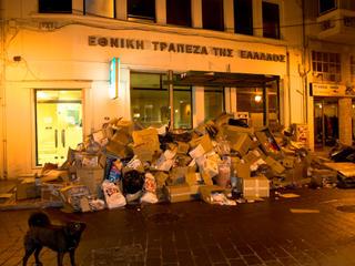 σκουπίδια στη Μυτιλήνη