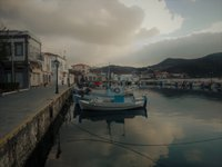 boats in Limnos
