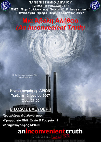 poster Inconvenient Truth - LESVOS
