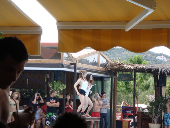 "(3) Beach Party at ""Mayote"" - I know a girl who can dance much much much better...:) - With all the respect...."