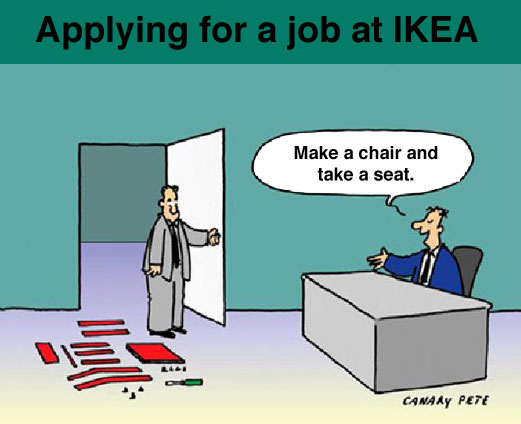 Apply for a job at Ikea