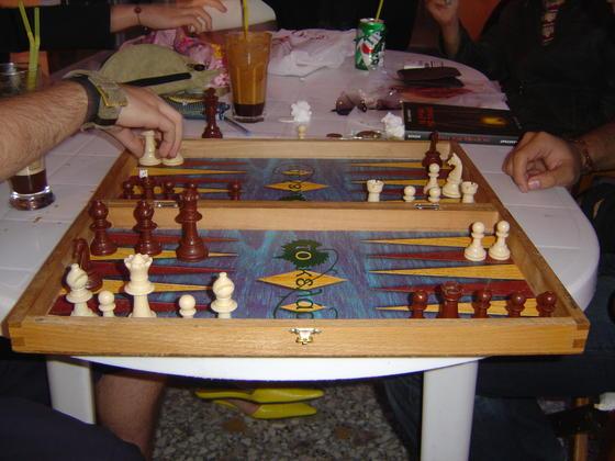 """chess-backgammon -- TavloSkakion - Samos """"Algory8mos"""" Lesxi - DSC04404"""