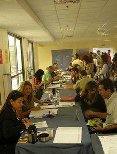εγγραφές πρωτοετών 2008 - Μυτιλήνη, Λόφος, εσωτερική άποψη