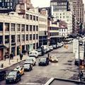 city street traffic cars