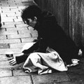 person in poverty - survival