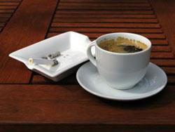 1rst coffe + cigarette