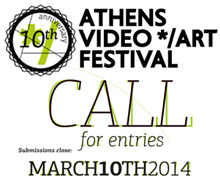 ATHENS VIDEO ART FESTIVAL - call for entries