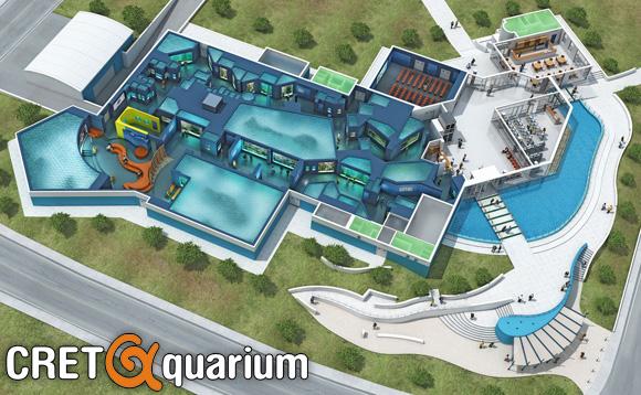 Ενυδρείο Κρήτης «CretAquarium» 3d model