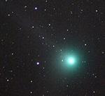 Φωτογραφία του κομήτη Machholz, Αντώνη Αγιομαμίτη
