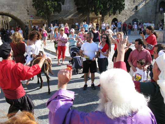 Μεσαιωνικό Φεστιβάλ Ρόδου - εκδηλώσεις