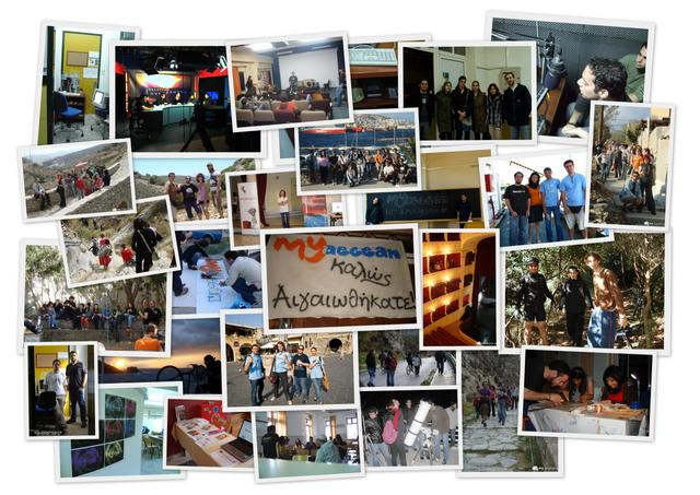 Inspire. Involve. Evolve. - MyAegean activities and initiatives at the Aegean Sea
