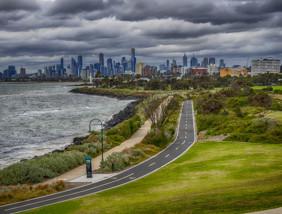 θέα από την Μελβούρνη - Αυστραλία
