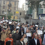 egyptian demonstration 2011