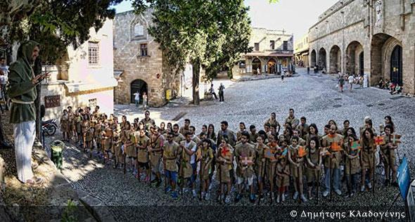 Μεσαιωνικό Ρόδο Φεστιβάλ - Δημήτρης Κλαδογένης