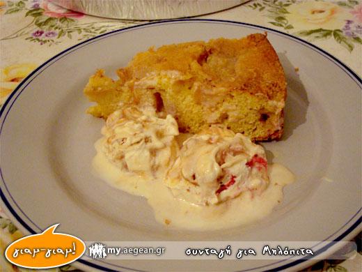 παγωτό και μηλόπιτα - applepie [συνταγή]