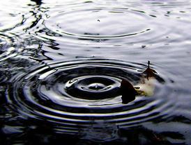σταγόνες βροχής