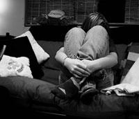 sitting sad - depression