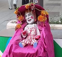street artist performer